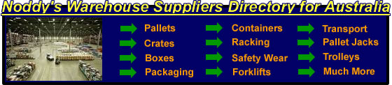 Noddy's Warehouse Suppliers Directory for Australia