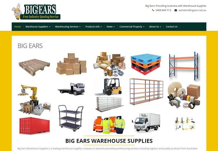 Big Ears Warehouse Supplies